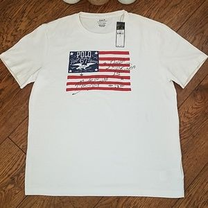 NWT Ralph Lauren Polo Womens Americana TShirt